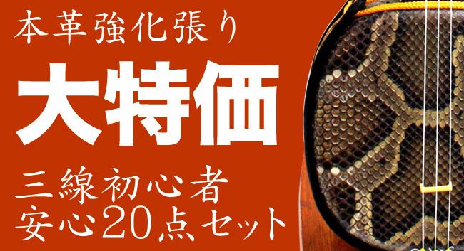 沖縄三線セット